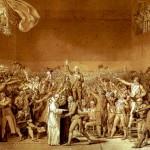 Kapitalistička država - Francuska buržoaska revolucija - slika The Tennis Court Oath (1791) Jacques-Louis David